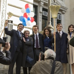 Oscar Isaac as Nick Wasicsko, Angela Pietropinto as Ann Wasicsko, Josh Salatin as Michael Wasicsko, Hillary Mann as Michael's wife, Michael Stahl-David as James Surdoval, and Carla Quevedo as Nay Noe