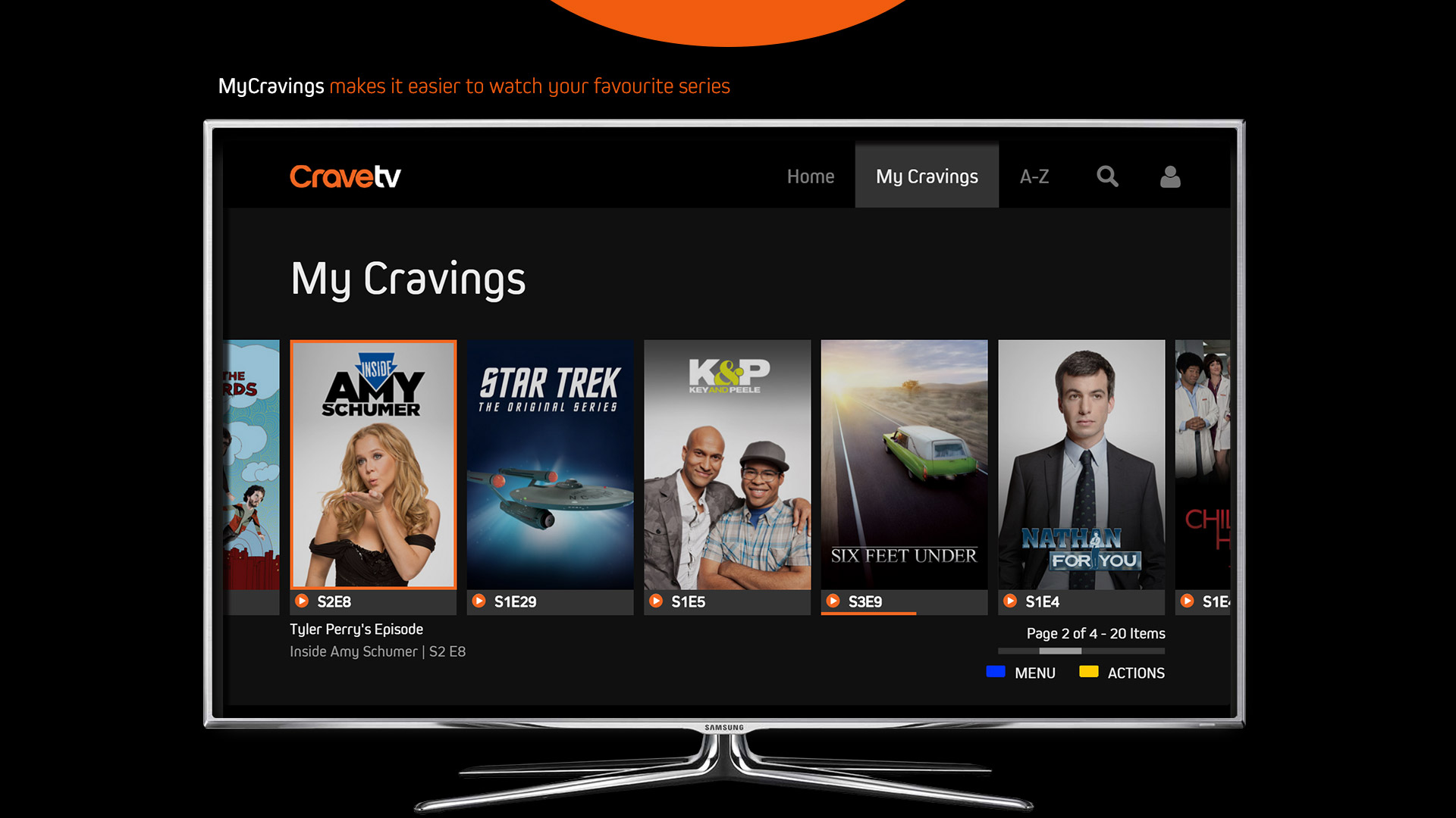 how to download cravetv on samsung smart tv